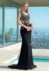 Alyce 2410.  Available in Black/Gold, Emerald/Silver, Ivory/Gold