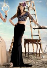 Alyce 2431.  Available in Black, Diamond White