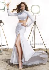 Alyce 2432.  Available in Black, Diamond White, Hot Pink/Rose
