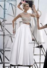 Alyce 2469.  Available in Black/Diamond White, Diamond White Solid