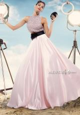 Alyce 2477.  Available in Rosewater/Black, White/Black