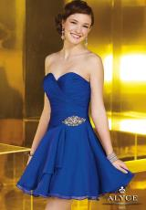 2014 Alyce Paris Short Prom Dress 3566