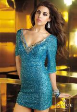 2014 Alyce Paris V-Neckline Prom Dress 4352
