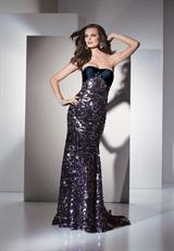 2012 Sequin Full Length Alyce Prom Dress 5429