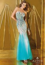 Alyce 6203.  Available in Light Gold/Nude, Orchid/Nude, Turquoise/Nude