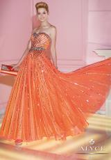 Alyce 6248.  Available in Diamond White, Orange, Wow Pink