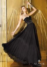 2014 Alyce Paris Corset Top Prom Dress 6288