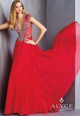 2014 Alyce Paris Homecoming V- Neckline Dress 6304