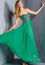 Alyce 6318.  Available in Emerald, Fuchsia
