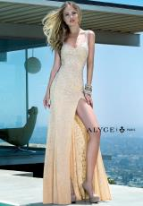 Alyce 6357.  Available in Black, Nude