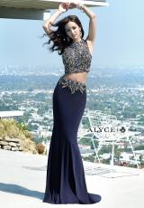 Alyce 6383.  Available in Ivory, Navy, Red, Turquoise