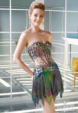 Alyce Short Corset Prom Dress 2311