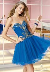 Alyce Short Beaded Prom Dress 3585