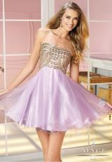 Alyce Short Tulle Skirt Prom Dress 3586