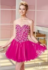 Alyce Short Corset Prom Dress 3590
