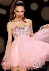 2014 Alyce Short Homecoming Dress 3594