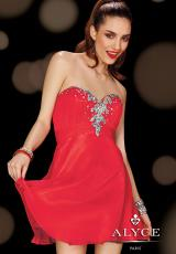 2014 Alyce Sweet 16 and Party Collection Short Chiffon Dress 3603