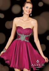 2014 Alyce Sweet 16 and Party Collection Flowy Dress 3606