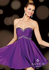 2014 Alyce Sweet 16 and Party Collection Ruched Bodice Dress 3609