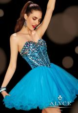 2014 Alyce Sweet 16 and Party Collection Beaded Top Dress 3615