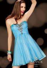 2014 Alyce Sweet 16 and Party Collection Chiffon Dress 3622