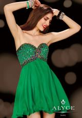 2014 Alyce Sweet 16 and Party Collection Flowy Dress 3628