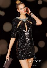 2014 Alyce Cocktail and Homecoming Collection Sequins Dress 4392