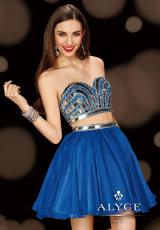 2014 Alyce Cocktail and Homecoming Collection Two Piece Dress 4410