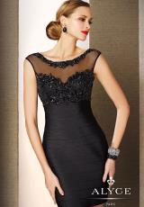 2014 Alyce Black Label Collection Short Dress 5649