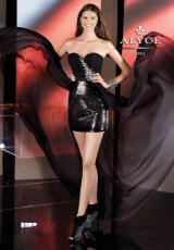 2014 High Low B'Dazzle Prom Dress 35547