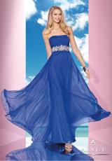 2014 B'Dazzle Long Chiffon Prom Dress 35608