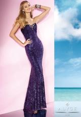 2014 B'Dazzle Fitted Prom Dress 35627