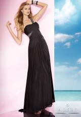 2014 B'Dazzle Ruched Top Prom Dress 35628