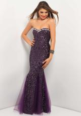 2013 Strapless Blush Prom Dress 9570