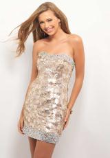 Strapless Blush Prom Dress C109