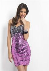 2013 Sweetheart Short Blush Prom Dress 9441