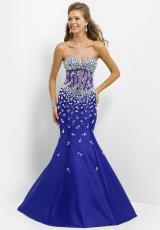 2014 Blush Fitted Bodice Prom Dress 9713
