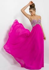 2014 Blush Long A Line Prom Dress 9724