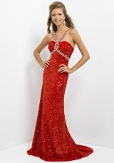 2014 Blush Long Sequin Prom Dress 9770