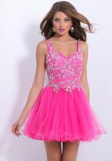 2014 Blush Beaded Homecoming Dress 9874