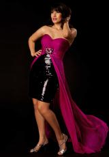 2013 Cassandra Stone II Plus Size Dress 64267K