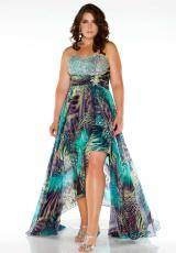 Fabulouss Plus Size 64487F.  Available in Multi