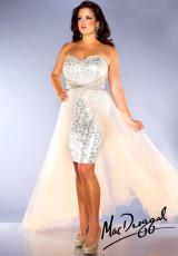 2014 Fabulouss Plus Size High Low Dress 76665F