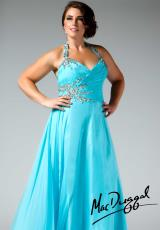 Fabulouss Plus Size 81609F.  Available in Aqua, Cobalt