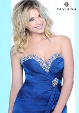 2013 Flowy Faviana Prom Dress 7102