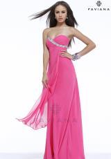 2014 Faviana Chiffon Prom Dress 7340