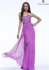 2014 Faviana Long Prom Dress 7364