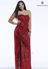 2014 Faviana Long Prom Dress 9310