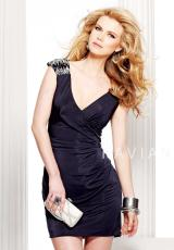 2012 Black Faviana Homecoming Dress S7023