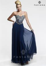 Faviana S7376.  Available in Aqua Blue, Black, Blush, Navy, Silver, White
